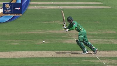 Hafeez 4th Four - SunChips In-match - IND vs PAK - CT17 - Final