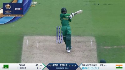 Hafeez 3rd Four - SunChips In-match - IND vs PAK - CT17 - Final
