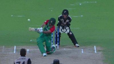 Shakib Wicket - BAN vs NZ