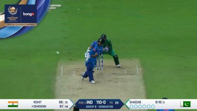 Dhawan 1st Six - SunChips In-match - IND vs PAK - CT17 - Match 4