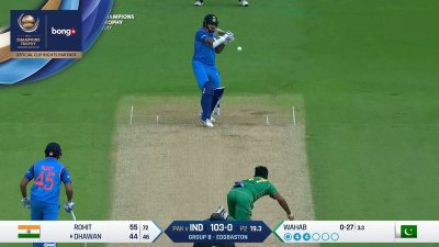 Dhawan 5th four - SunChips In-match - IND vs PAK - CT17 - Match 4