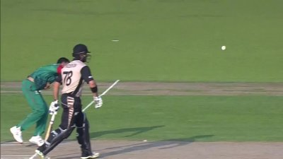Taylors Catch Drop by Al-Amin - BAN vs NZ
