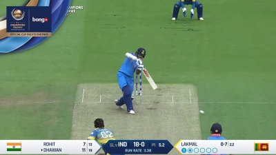 Dhawan 3rd Four - SunChips In-match - IND vs SL - CT17 - Match 8