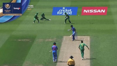Ali Dropped Catch - SunChips In-match - IND vs PAK - CT17 - Final