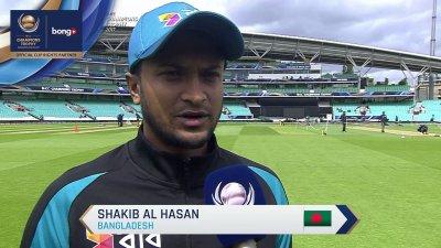 Shakib Flash Interview - Oscar Specials - AUS vs BD - CT17 - Match 5