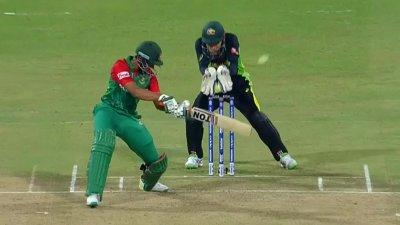 Shakib Wicket - AUS vs BAN