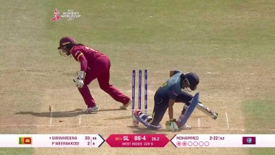 Match Highlights - Ispahani Highlights - WI vs SL - WWC17 - Match 20 (5min Ver.)