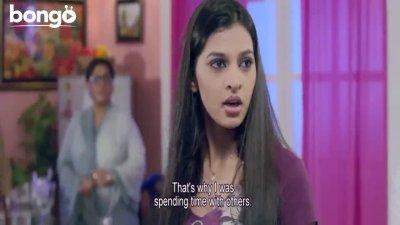 Ananta Quarrels With Borsha - Nisshartho Bhalobasha