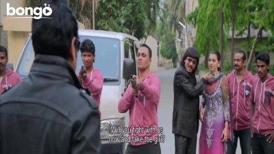 Ananta Is Rescuing kidnapped Barsha - Nisshartho Bhalobasha