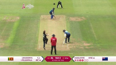 Match Highlights - Ispahani Highlights - NZ vs SL - WWC17 - Match 1