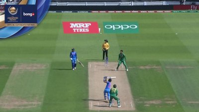Pandya 1st Six - SunChips In-match - IND vs PAK - CT17 - Final
