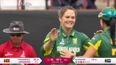 Match Highlights - Ispahani Highlights - SL vs SA - WWC17 - Match 22