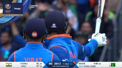 Yuvraj Fifty Moment - SunChips In-match - IND vs PAK - CT17 - Match 4
