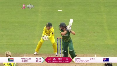 Match Highlights - Ispahani Highlights - SA vs AUS - WWC17 - Match 25