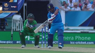 Jadhav 1st Four - SunChips In-match - IND vs PAK - CT17 - Final
