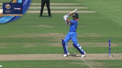 Dhawan 3rd Four - SunChips In-match - IND vs PAK - CT17 - Final