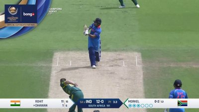 Dhawan 1st Six - SunChips In-match - IND vs SA - CT17 - Match 11