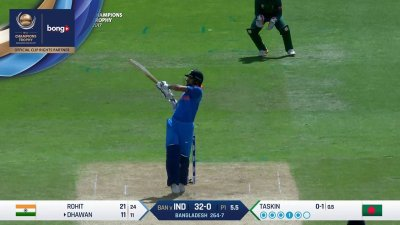 Dhawan 3rd Four - SunChips In-match - BD vs IND - CT17 - Semi Final 2
