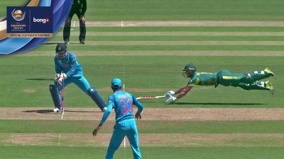 De Villiers Wicket - IND vs SA - CT17 - Match 11