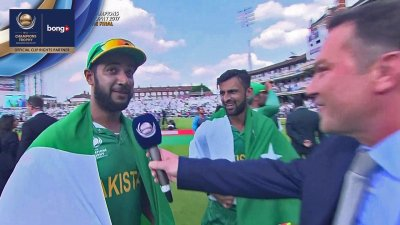 Wasim & Malik Flash Interview - Oscar Specials - IND vs PAK - CT17 - Final