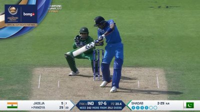 Pandya 3rd Four - SunChips In-match - IND vs PAK - CT17 - Final