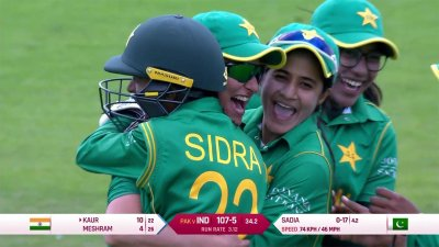 Match Highlights - Ispahani Highlights - IND vs PAK - WWC17 - Match 11