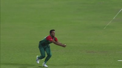 Mustafizurs Brilliant Slower Ball - AUS vs BAN