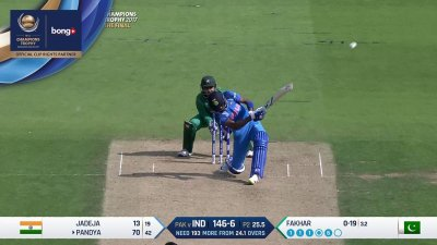Pandya 6th Six - SunChips In-match - IND vs PAK - CT17 - Final