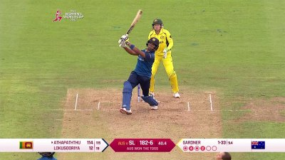Match Highlights - Ispahani Highlights - SL vs AUS - WWC17 - Match 8