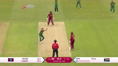 Match Highlights - Ispahani Highlights - SA vs WI - WWC17 - Match 12