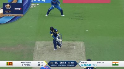 Mathews 4th Four - SunChips In-match - IND vs SL - CT17 - Match 8