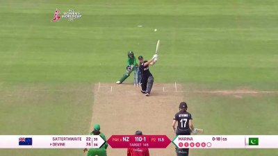 Match Highlights - Ispahani Highlights - NZ vs PAK - WWC17 - Match 17