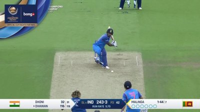 Dhawan 14th Four - SunChips In-match - IND vs SL - CT17 - Match 8