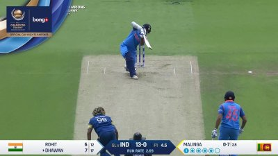 Dhawan 2nd Four - SunChips In-match - IND vs SL - CT17 - Match 8
