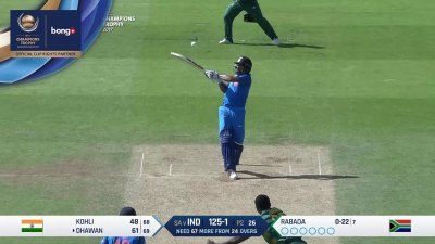 Dhawan 10th Four - SunChips In-match - IND vs SA - CT17 - Match 11