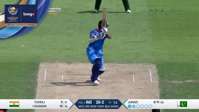 Dhawan 4th Four - SunChips In-match - IND vs PAK - CT17 - Final