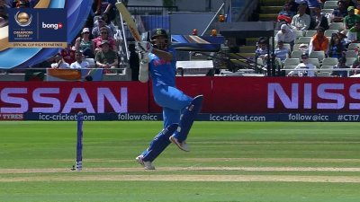 Dhawan 5th Four - SunChips In-match - BD vs IND - CT17 - Semi Final 2