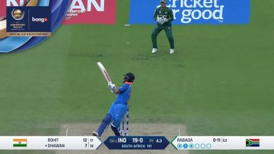 Dhawan 1st Four - SunChips In-match - IND vs SA - CT17 - Match 11