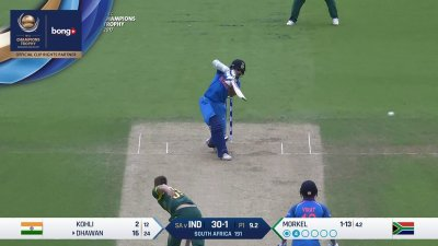 Dhawan 3rd Four - SunChips In-match - IND vs SA - CT17 - Match 11