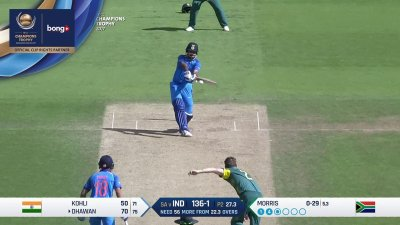 Dhawan 12th Four - SunChips In-match - IND vs SA - CT17 - Match 11